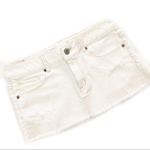 American Eagle Factory Distressed Mini Skirt